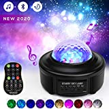 Star Projector Night Lights, Sky Lite Galaxy Projector Starlight Lamp Led Starry Sky Light/Stage Light, SPFUHO Auto Timing Music Player Starry Light Projector for Kids Bedroom Adults Party Deco Gifts