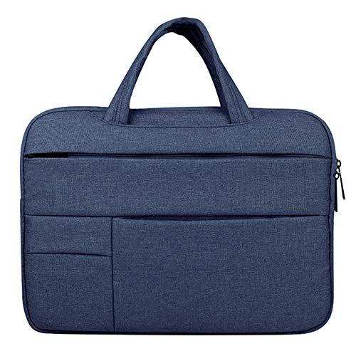 Laptoptas 11-39,6 cm (11-15,6 inch), waterdichte bescherming voor de computer, diefstalbeveiliging, schokbestendig, ademende stof, voor mannen en vrouwen, laptoptas