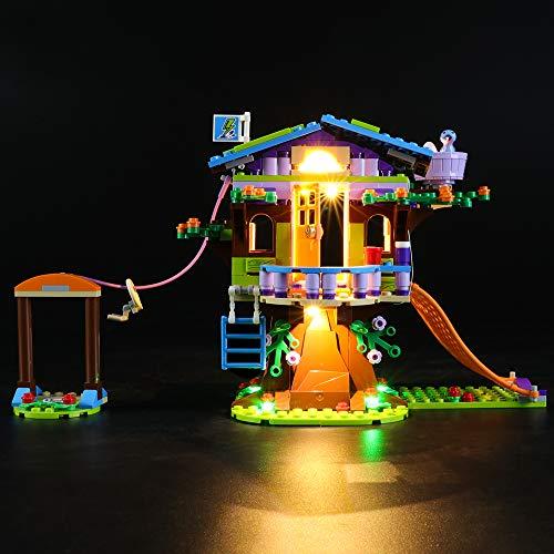 LIGHTAILING Set di Luci per (Friends La Casa Sull'Albero di Mia) Modello da Costruire - Kit Luce LED Compatibile con Lego 41335 (Non Incluso nel Modello)