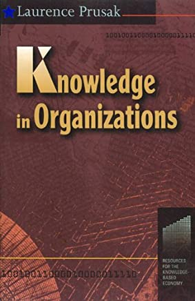 Knowledge in Organisations (English Edition)