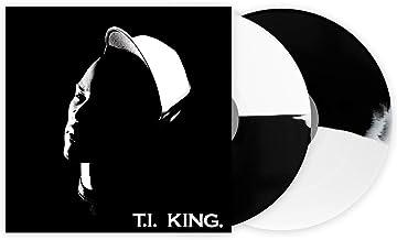 T.I – King Limited Edition White And Black Split 2X Vinyl LP