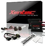 Xentec 9006 (HB4) 6000K HID Xenon Bulb bundle with 55W EP alloy Slim Ballast (Ultra White)