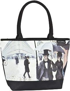 VON LILIENFELD® Borsa Shopping Donna Spazioso Tracolla Saccoccia Motivo Gustav Klimt: Il bacio