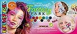 Eulenspiegel- Metall-Palette 212257 Fantasy Park-Paleta de Maquillaje Vegana, para niños, Carnaval, Multicolor
