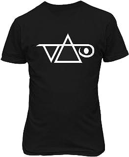 トップTシャツ STEVE VAI Rock Music Guitarist T shirt 触発された面白いTシャツ