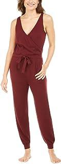 ALFANI Intimates Maroon Polyester Belted Sleepwear Jumper Size: M