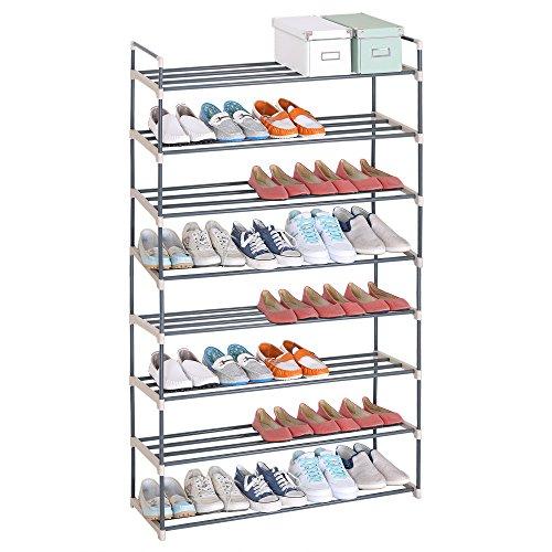 WOLTU SR0019-a Schuhregal Schuhständer Schuhablage, 8 Schicht für 40 Paare Schuhe, XXXL Ständer...