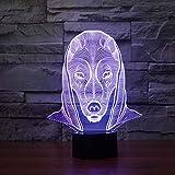 Tareas domésticas Luces de Colores para Perros Visión Luces de Noche Mesa táctil para niños Sueño de bebé Luces de Noche
