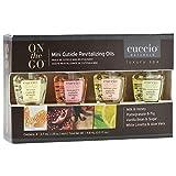 Cuccio Naturale Mini Cuticle Revitalizing Oils 14.8ml (4 scents)