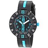 [フリック フラック] 腕時計 Power Time 7+ (パワータイム7+) BLUE AHEAD (ブルー・アヘッド) FCSP031 正規輸入品 ブラック