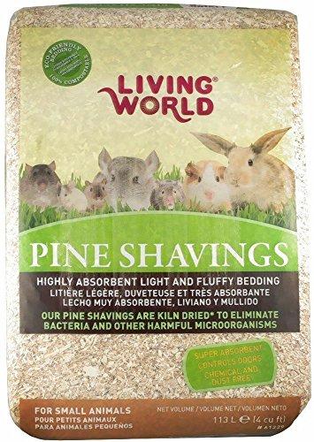 Living World Pine Shavings, 4-Cubic Feet