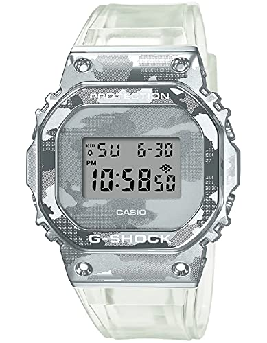 Men's Casio G-Shock Square Army Green Resin Strap Digital Watch DW5610SU-3