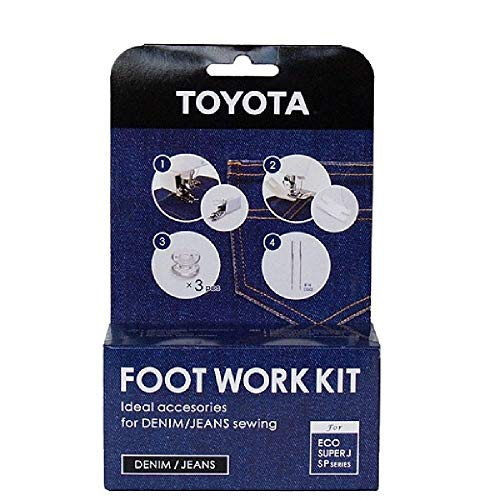 Toyota FWK-DZB30 Zubehörset für Jeans/Denim Naharbeiten mit SP/ECO Modellen