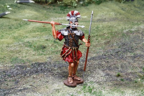 Roman Toy Soldiers Pilum Thrower by The Collectors Showcase Toy Soldiers Painted Metal Figure 54mm-56mm CS00921 WBritain King Country