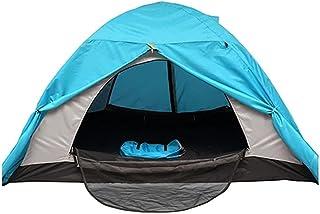 Tent خيمة الثلج الدافئ خيمة الطابق المزدوج مع Skollight لمدة 1-2 أشخاص كثيفون Windproof خيمة التخييم الباردة للتخييم الأسرة