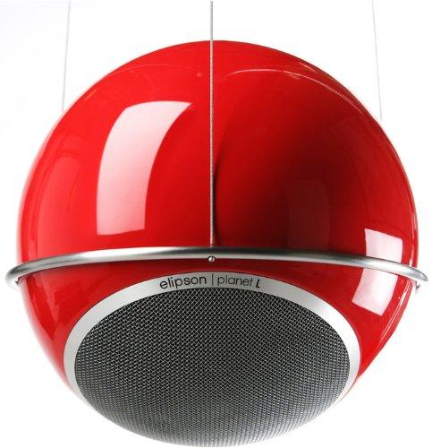Elipson Planet L-Ceiling Deckenhalterung für Lautsprecher aus gebürstetem Stahl