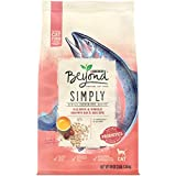Purina Beyond Natural Limited Ingredient Dry Cat Food, Simply Salmon & Whole Brown Rice Recipe - 3 lb. Bag
