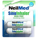 NeilMed SinuInhaler Natural Non Medicated Aromatherapy Inhaler (Bonus Pack)