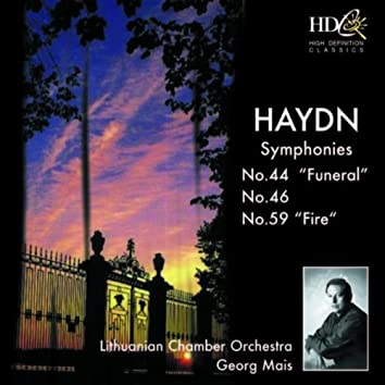 Haydn: Symphonies No. 44, 46 and 59