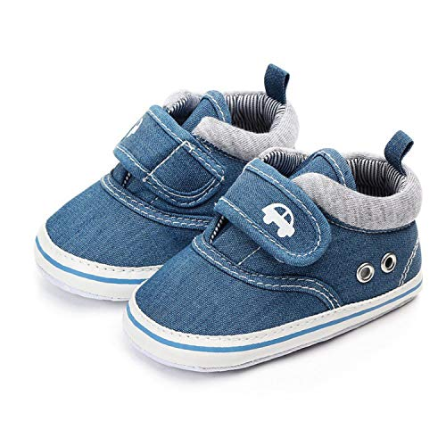 Beautymade Baby Shoes Infant First Walkers Tollder Canvas Shoes Lace-Up Baby Girls Sneaker Prewalker 0-18M Pink