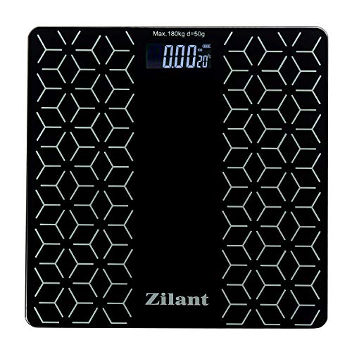 Zilant 6mm Toughened Glass Top Heavy Duty Weighing Machine...