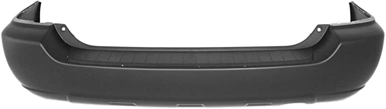 MBI AUTO - Painted to Match, Rear Bumper Cover for 2004 2005 2006 2007 Toyota Highlander 04-07, TO1100231