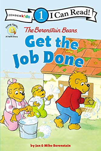 The Berenstain Bears Get the Job Done: Level 1 (I Can Read! / Berenstain Bears / Living Lights: A Faith Story) (English Edition)
