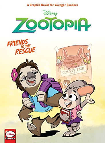 Disney Zootopia: Friends to the Rescue (Younger Readers...