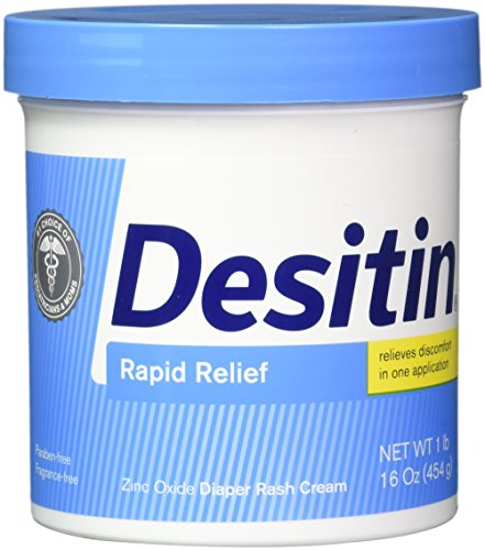 Price comparison product image DESITIN Rapid Relief Creamy Jar,  16-Ounce (Pack of 4)