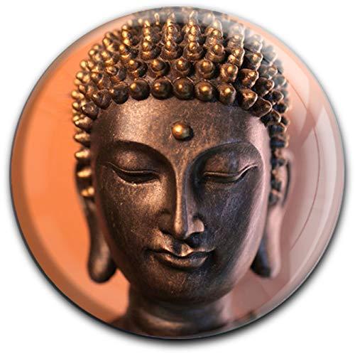 metALUm runder Acrylmagnet mit starkem Neodym - Magnet Buddah #1301046