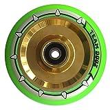 einzeln Team Dogz 100mm & 110mm UFO hohl Kern Roller Rad ABEC11 passt auch für MGP Stumpf Slamm...