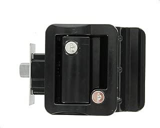 Jammy TDL-01-B OEM RV Entry Door Lock Handle Knob Kit - Includes Deadbolt and Keys, Industrial Grade - Black
