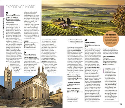 DK Eyewitness Florence and Tuscany (Travel Guide) - 51SpUsrEGjL