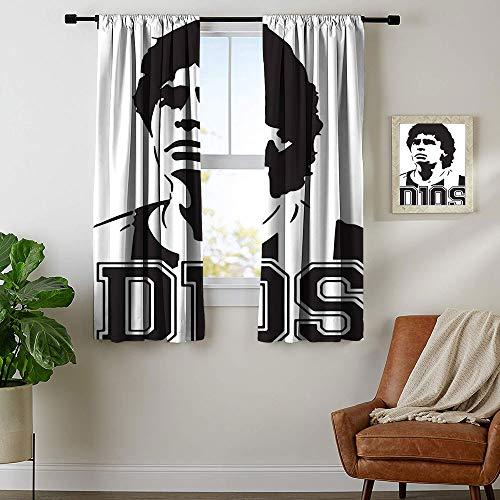 Cortinas con reducción de ruido diseño de Maradona