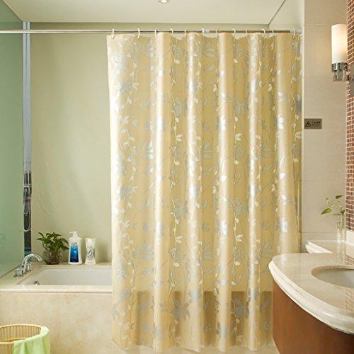 Rideaux de douche Rideaux de douche Imperméable à l'eau Moisissure Salle de bains Rideaux Toilette Douche Rideaux de douche Rideaux occultants Rideaux de douche de haute qualité