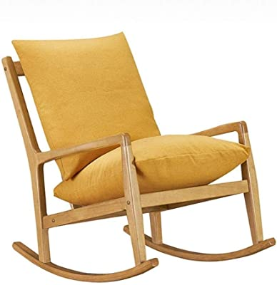 Amazon.com: Giantex Upholstered Rocking Chair, Modern High