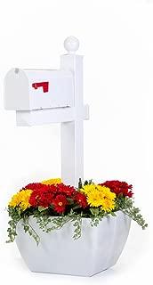 SnapPot Post Planter- White