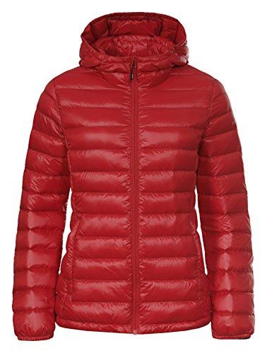 Icepeak Damen Vivica Jacke, Rot (Rojo), EU 38