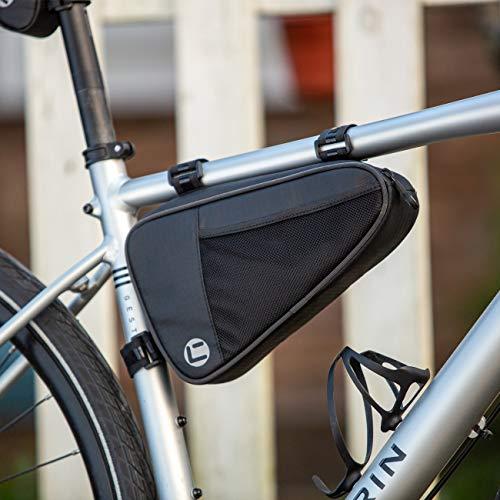 CCKOLE Fahrrad Rahmentasche Wasserdicht, Fahrradtasche Rahmen Triangle Tasche Reißfest, Radtasche Oberrohrtasche MTB Rennrad Tasche 1L Dreiecktasche
