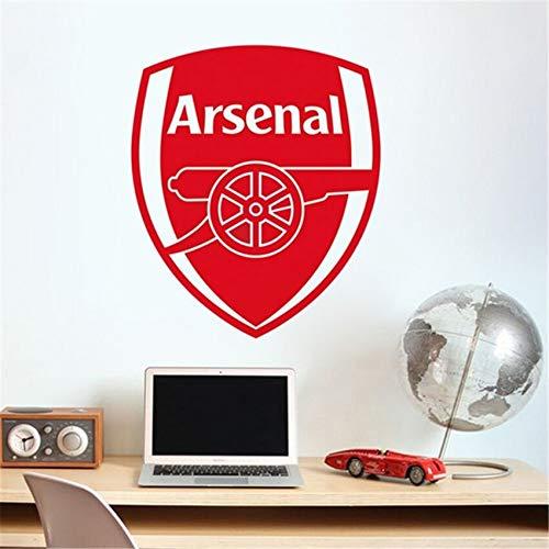 yaonuli Europees voetbalteam, logo, muursticker, kinderkamer, familie, applique, vinyl, muurkunst sticker