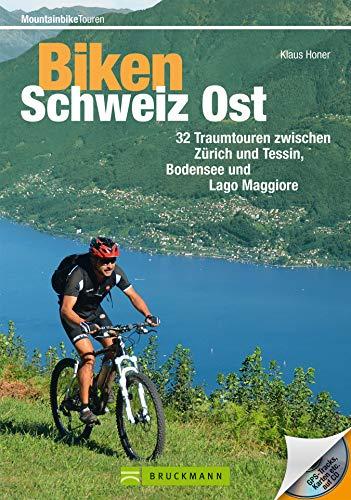 Mountainbike Touren in der Ostschweiz: 32 traumhafte MTB Touren zwischen Zürich und Tessin, Bodensee und Lago Maggiore. Mit Karten, Roadbooks, Höhenprofilen und GPS-Tracks (Mountainbiketouren)