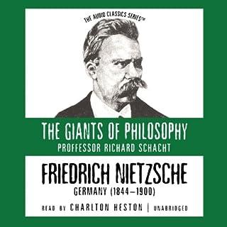 Friedrich Nietzsche audiobook cover art