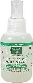Earth Therapeutics Tea Tree Oil Foot Spray, 4 Ounce