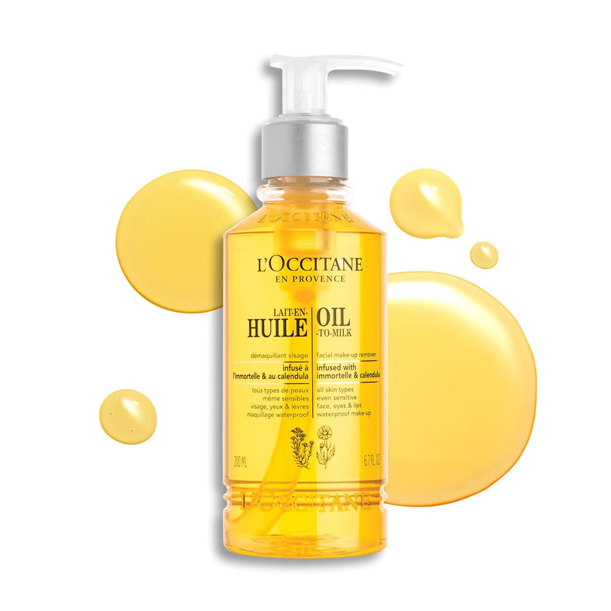L'Occitane Oil-to-Milk Facial Dealing full price reduction Makeup Remover 6.7 Oz Sale Fl