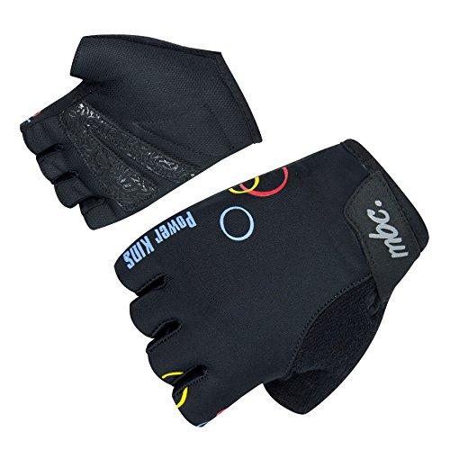 Orina Power Fahrradhandschuhe für Kinder - Halbfinger Kinder Rad Handschuhe (KD 5-16cm)