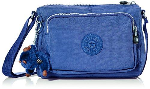 Kipling - Reth S, Bolsos bandolera Mujer, Blau (Jazzy Blue), 13.5x23x15.5 cm (B x H T)