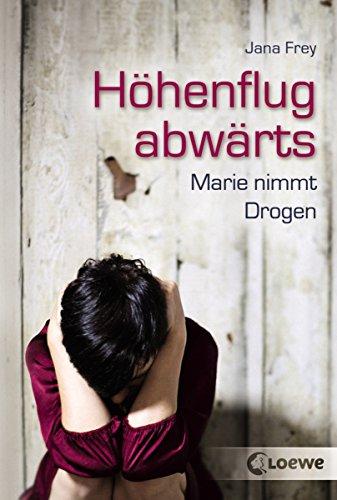 Höhenflug abwärts: Ein Mädchen nimmt Drogen