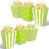 OUOQI Sacchetti per popcorn, 36 pezzi, sacchetti per...
