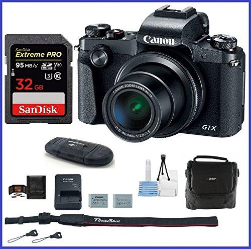 Canon PowerShot G1 X Mark III Digital Camera PRO Bundle