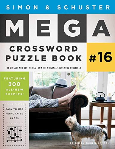 Simon & Schuster Mega Crossword Puzzle Book #16 (16) (S&S Mega Crossword Puzzles)